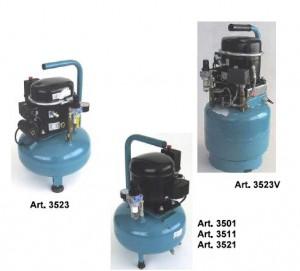 fluesterleise Kompressoren